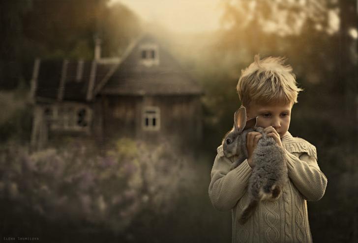 Çocuk Tavşan Fotoğraf 2