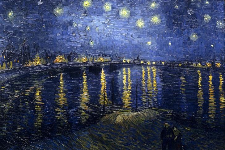 Ren Nehrinde Yıldızlı Bir Gece, 1888