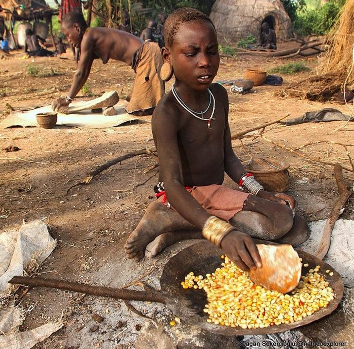 Etiyopya Küçük Kız