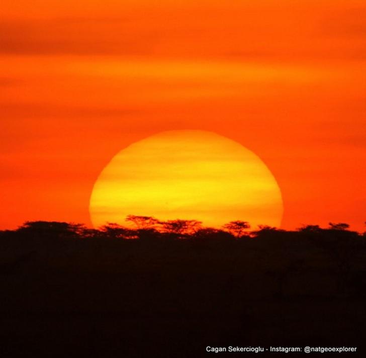 Güney Etiyopya Gün Batımı