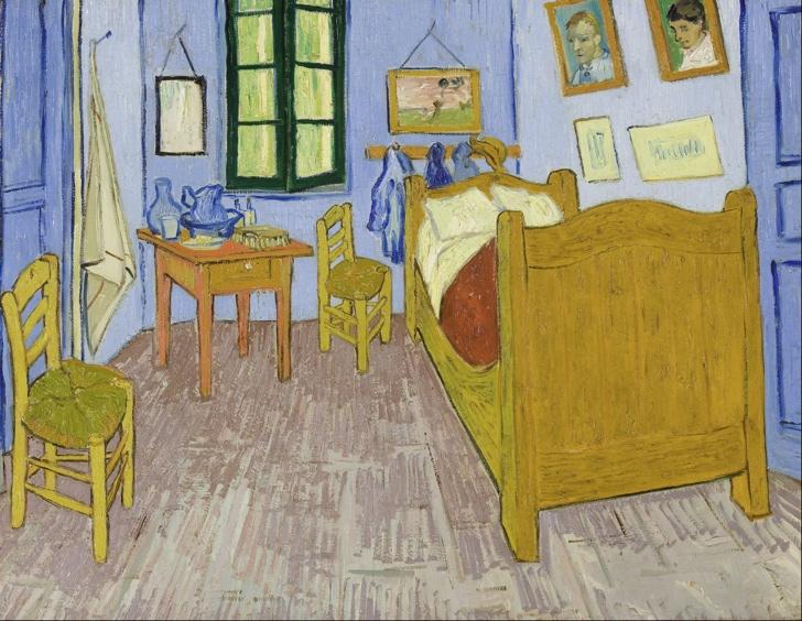 Eylül sonu 1889, Tuval Üzerine Yağlıboya, 57.5 x 57.5 cm., Musée d'Orsay, Paris, Fransa