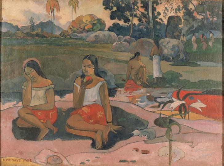 Nave Nave Moe, Paul Gauguin