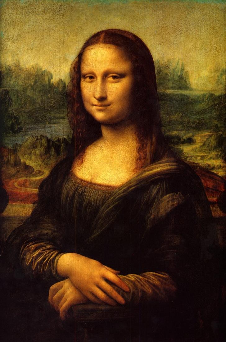Mona Lisa tablosu da vinci