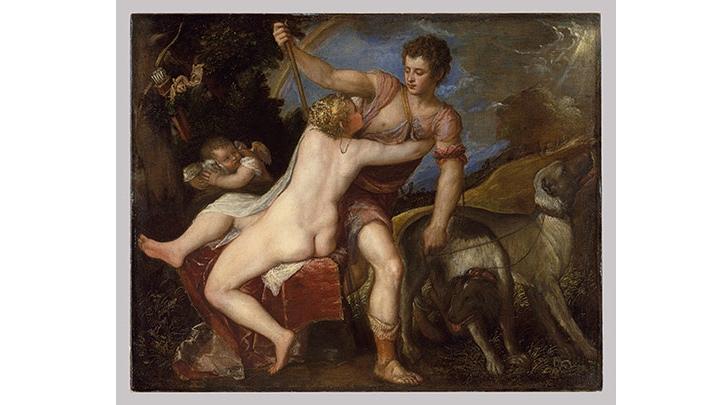 Venüs ve Adonis, Tiziano Vecellio