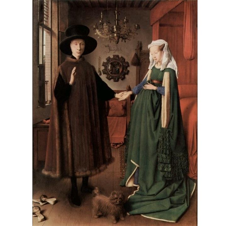 Arnolfini'nin Evlenmesi, Jan Van Eyck
