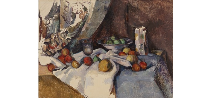 Still Life With Apples, Paul Cezanne