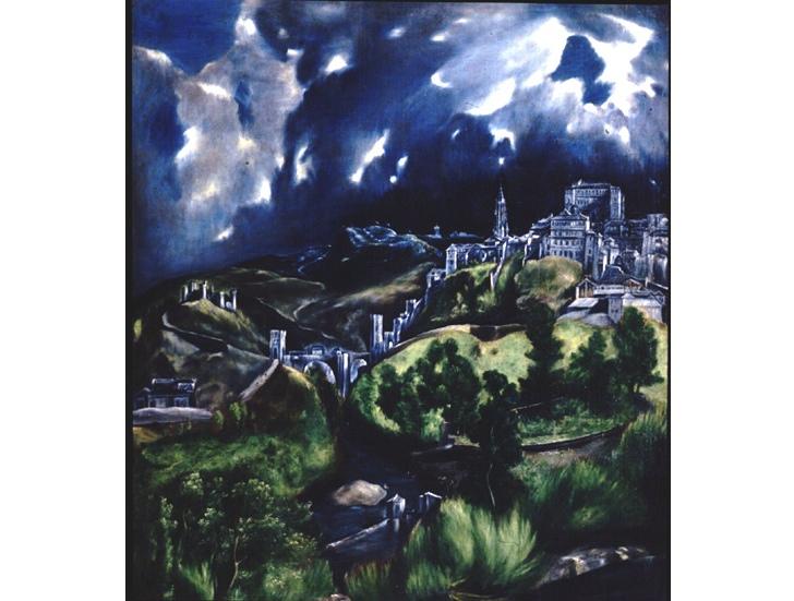 Toledo Manzarası, El Greco