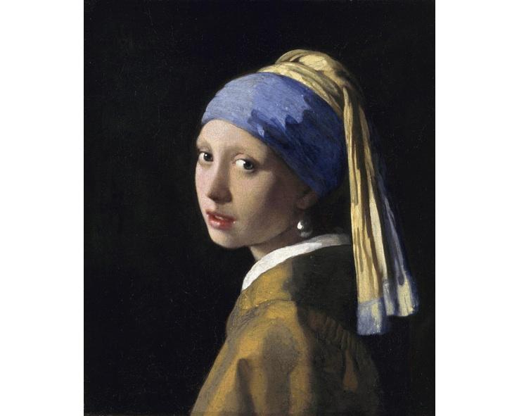İnci Küpeli Kız, Johannes Vermeer