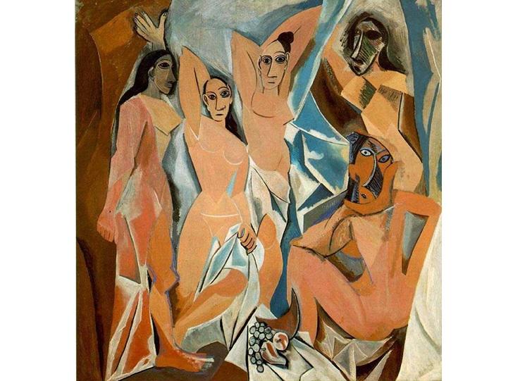 Avignonlu Genç Kızlar, Pablo Picasso