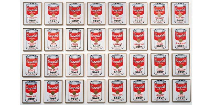 Campbell'in Çorba Konserveleri, Andy Warhol