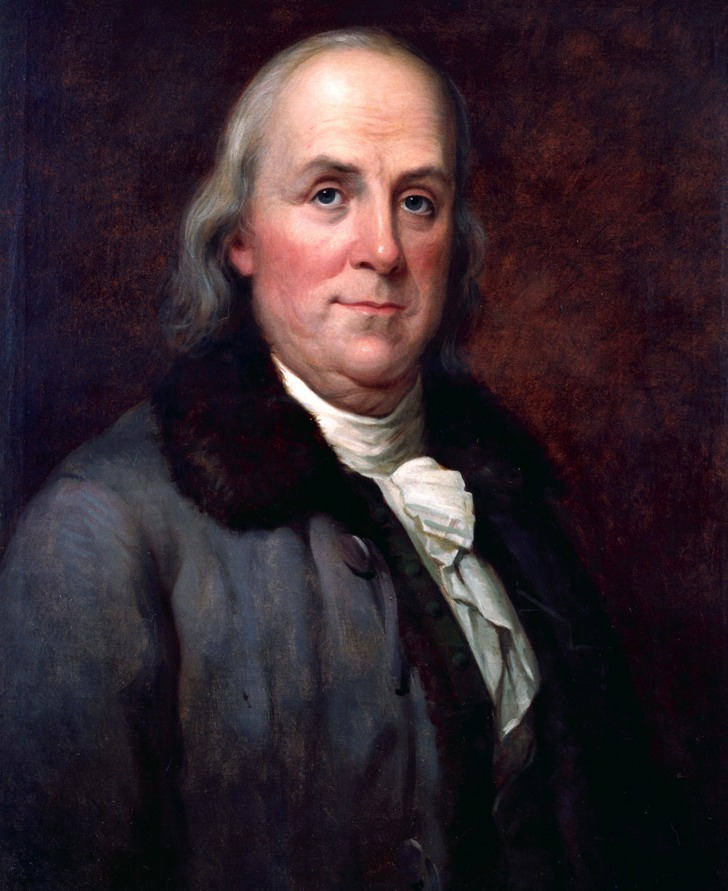 Benjamin Franklin vakit nakittir