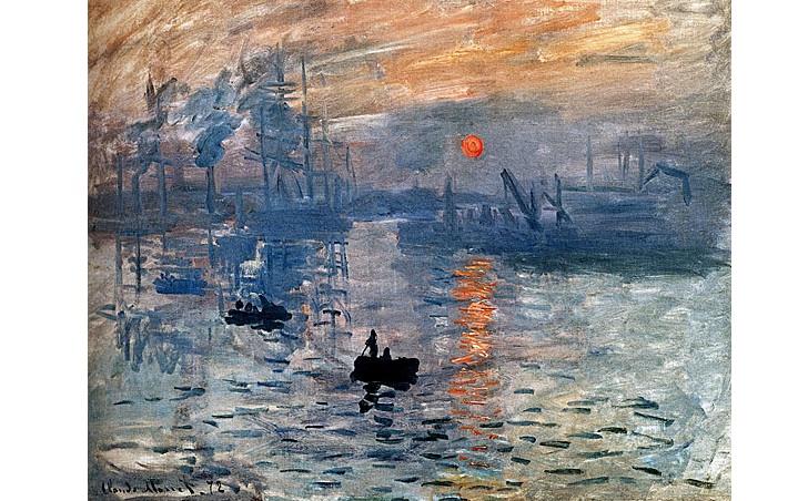 İzlenim Gün Doğumu, Claude Monet