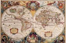 dünya haritası tarih
