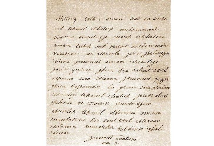 Hatice Sultan Mektup