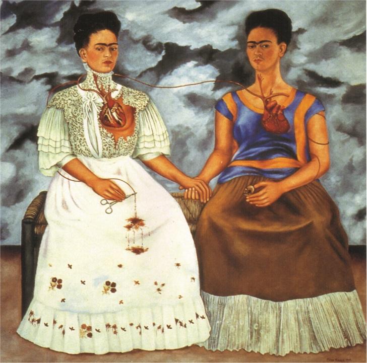 İki Frida, Frida Kahlo