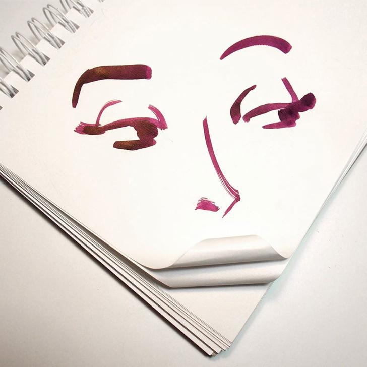 çizim yaratıcı sanat portre