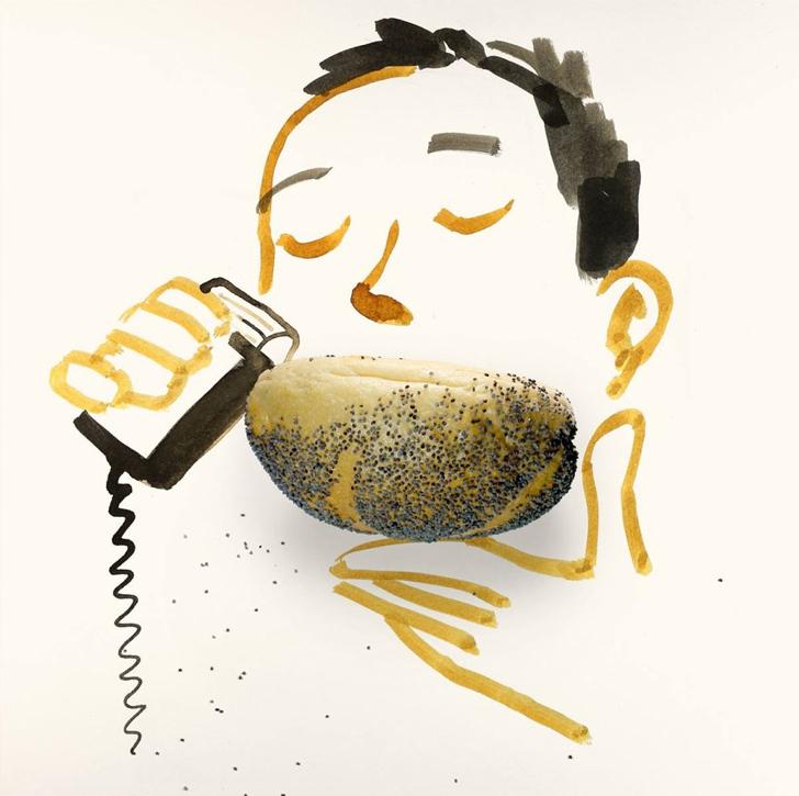 çizim yaratıcı sanat sakal ekmek