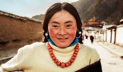 çinli kadın fotoğrafı