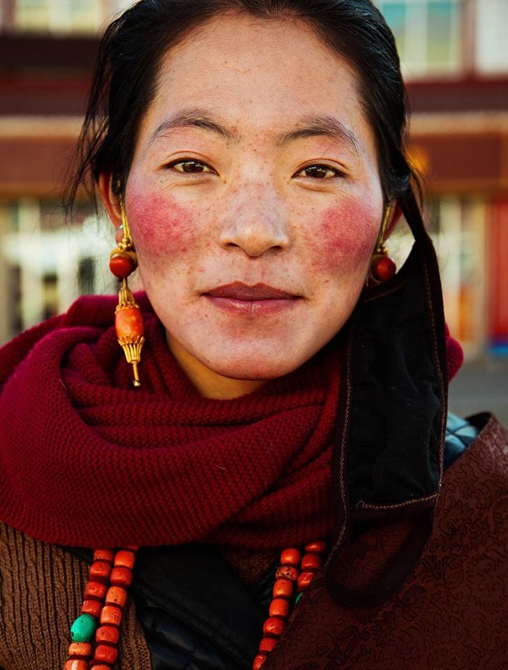 çin kadın fotoğraf