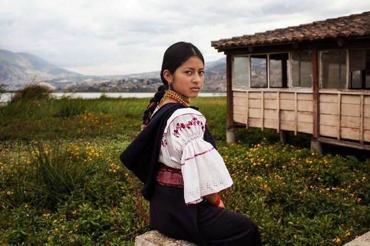 ekvator kadın fotoğraf