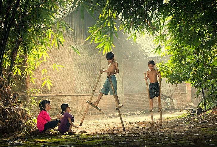 endonezya çocuklar fotoğraf