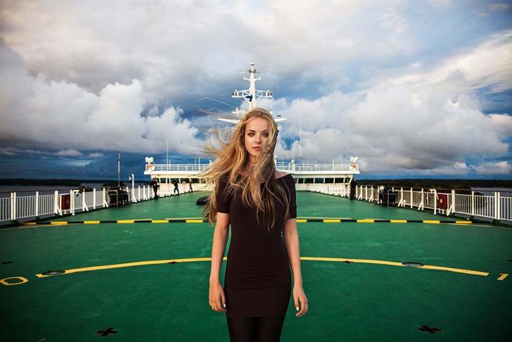 finlandiya kadın fotoğraf