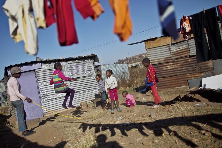 güney afrika çocuklar fotoğraf