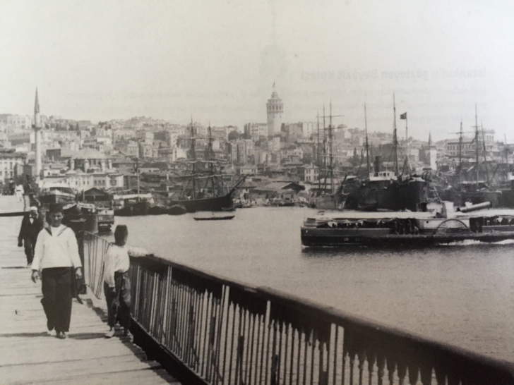haliç köprüsü hayratiye eski istanbul