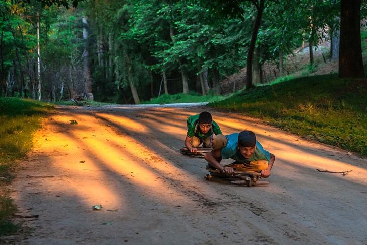 hindistan çocuklar fotoğraf