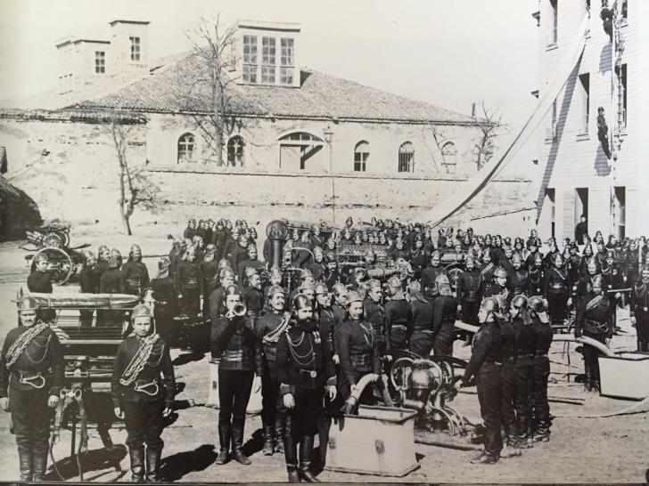 itfaiye teşkilati eski istanbul ziçini paşa