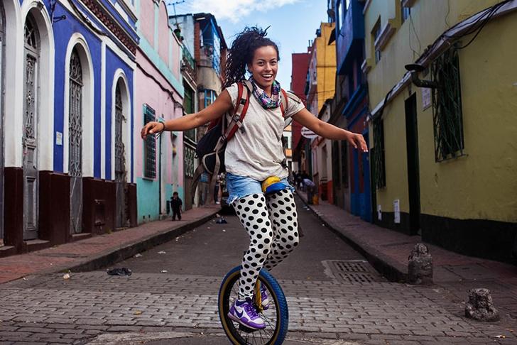 kolombiya kadın fotoğraf