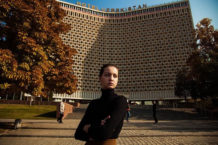 özbekistan kadın fotoğraf