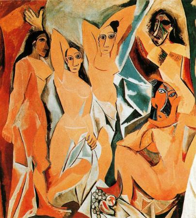 pablo picasso avignonlu kadınlar