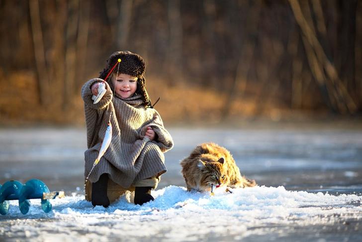 rusya çocuk fotoğraf