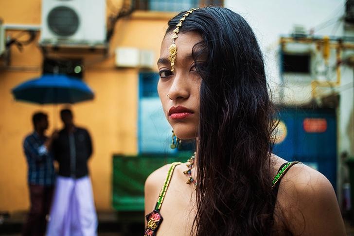singapur kadın fotoğraf