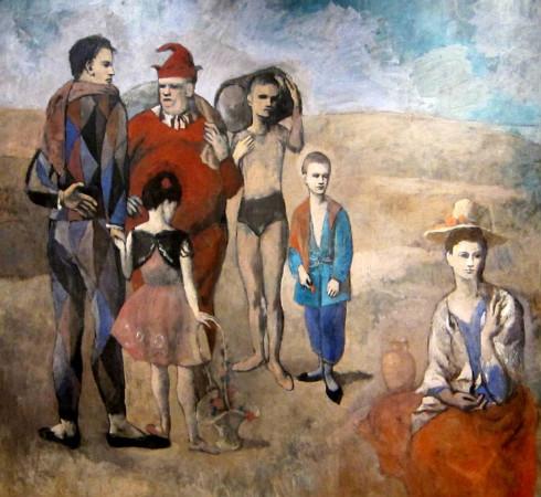 soytarilar ailesi pablo picasso 1905