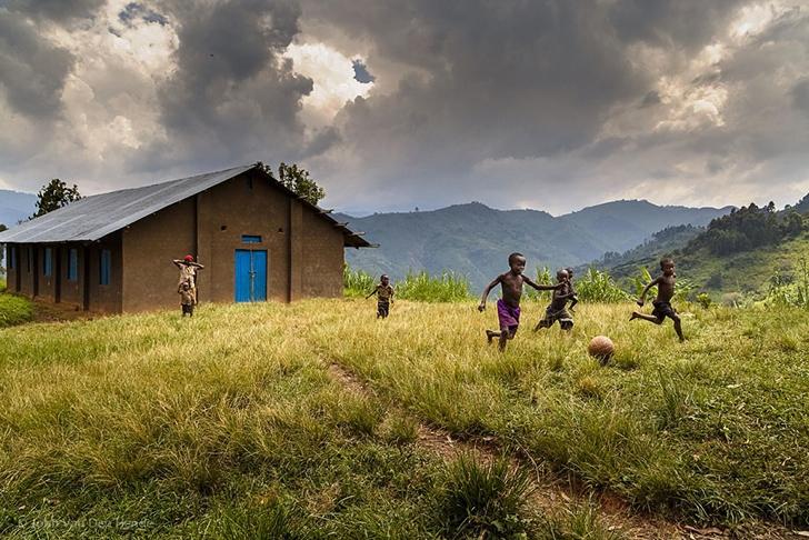 uganda çocuklar fotoğraf
