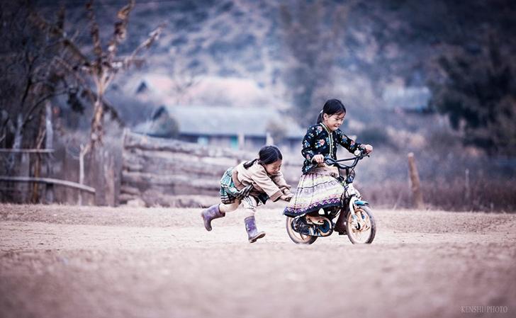 vietnam çocuklar fotoğraf