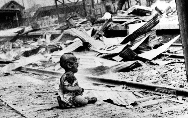şangay bebek fotoğraf 2. dünya savaşı