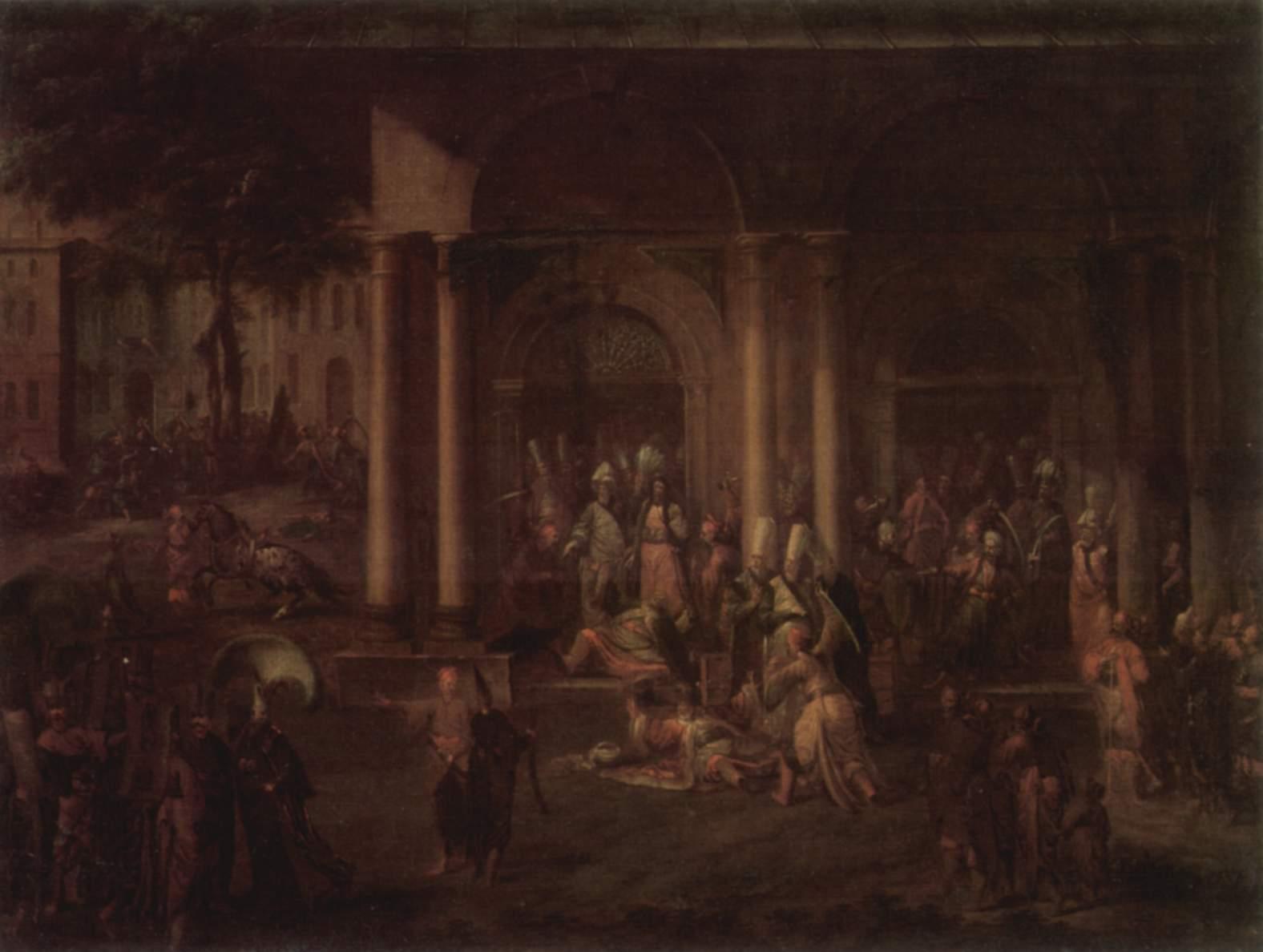 Jean-Baptiste van Mour Patrona Halil İsyanı 1730