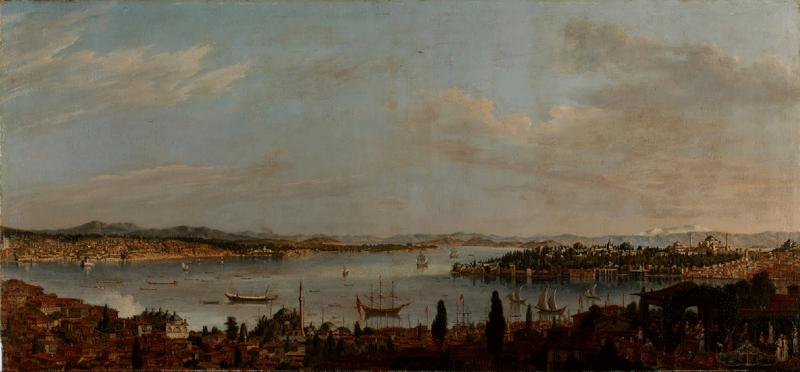 Antoine de Favray İstanbul Panaroması
