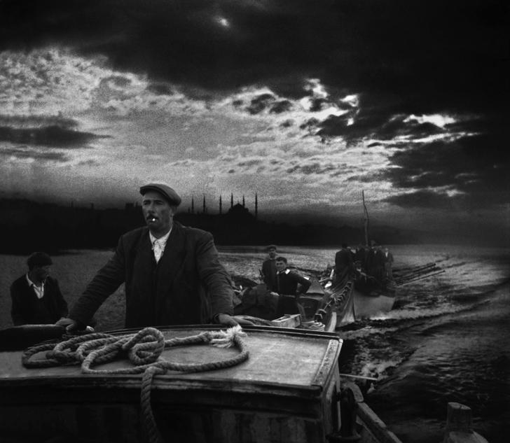 ara güler kayıkçı istanbul fotoğraf