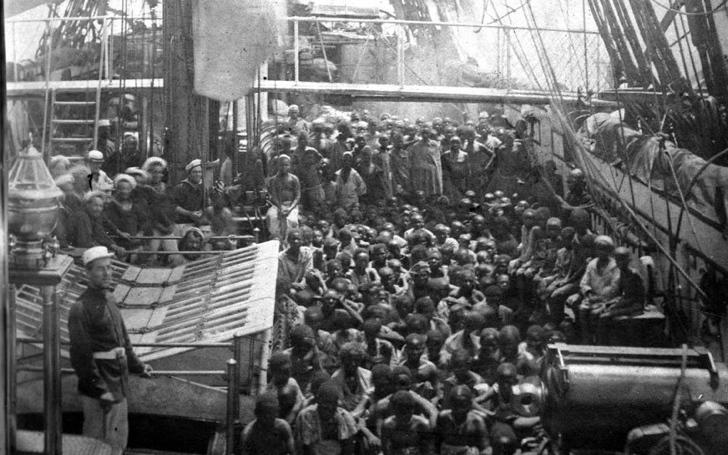 atlantik köle ticareti fotoğraf