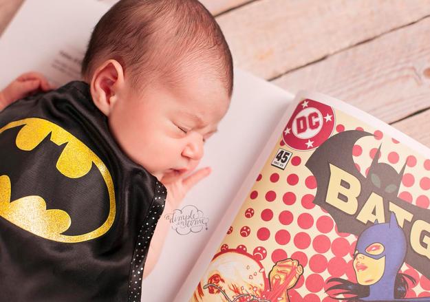 batman bebek fotoğrafı