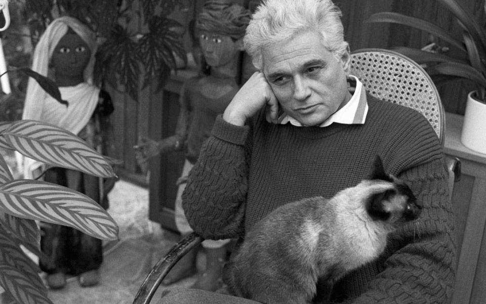 filozof derrida kedi