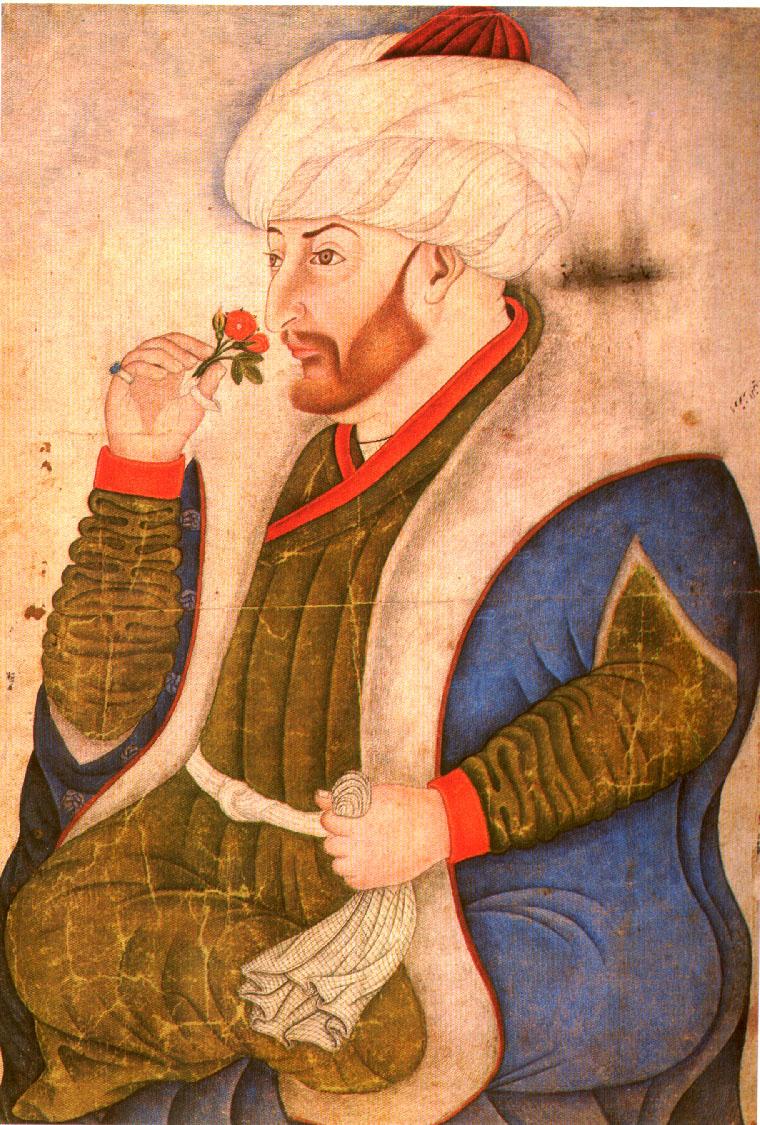 fatih sultan mehmet nakkaş sinan bey minyatür