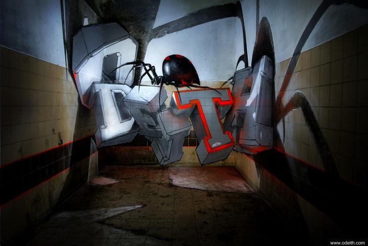 graffiti örümcek fotoğraf sanat