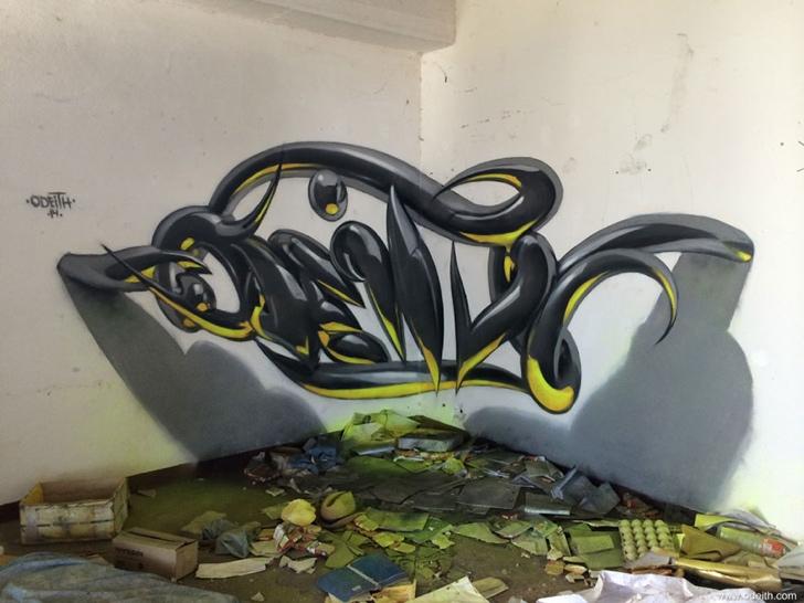 graffiti fotoğraf sanat üç boyutlu