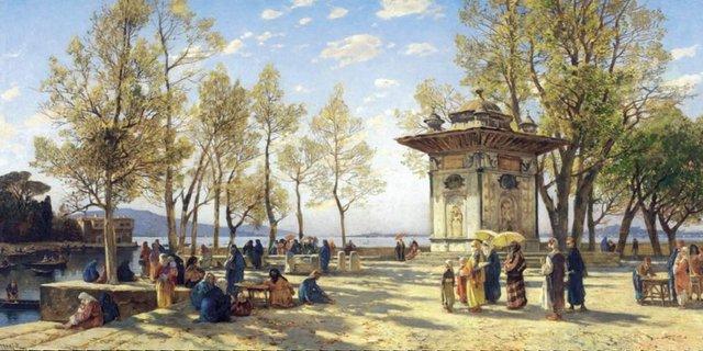 Hermann Corrodi - Boğaziçi'nde Asya'nın Tatlı Su Çeşmesi