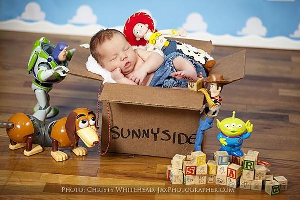 oyuncak hikayesi bebek fotoğrafı